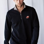 Trucker Zip-Neck Sweatshirt