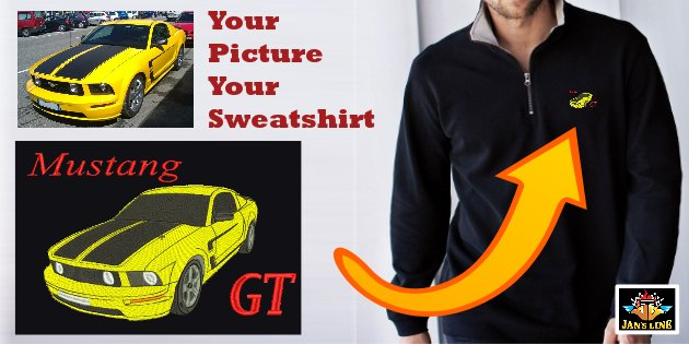 n3- Your photo your sweatshirt