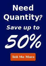 Quantity Savings up to 50%
