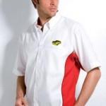 kk185-mens-short-sleeve-sportsman-shirt with mustang